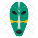 Kwele Mask African Culture Tribal Mask Icon