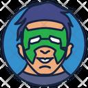 Kyle Rayner Warrior Superhero Icon