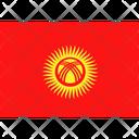 Flag Country Kyrgystan Icon