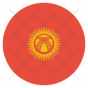Kyrgyzstan National Country Icon