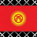 Flag Country Kyrgyzstan Icon
