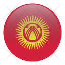 Kyrgyzstan Country Flag Icon