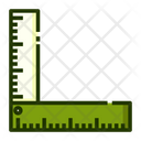 L Ruller Ruler Measurement Tool Icon