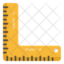 Ruler L Scale Inches Icon