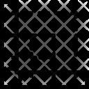 L Square Ruler Measurement Icon