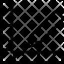 L Square Ruler Architecture Icon
