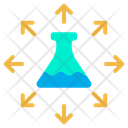 Flask Conical Flask Science Icon