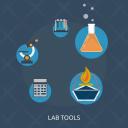 Lab Tools Microscope Icon