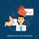 Lab Doctor Organ Icon