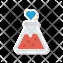 Lab Flask Love Icon