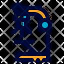 Microscope Laboratory Research Icon