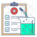 Medical Document Lab Analysis Medical Test Results Icon