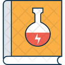 Lab Book Chemistry Book Experiment Book Icon