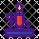 Lab Burner Chemistry Science Icon