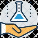 Lab Care Hand Icon