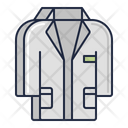 Lab Coat Scientist Coat Doctor Coat Icon