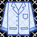 Lab Coat Chemist Doctore Icon