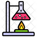 Lab Experiment Chemical Beaker Toxic Material Icon