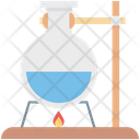 Lab Experiment Lab Research Conical Flask Icon
