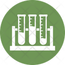 Lab Flask Culture Tube Experiment Icon