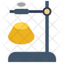 Lab Flask And Stand Lab Flask Laboratory Icon