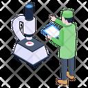 Lab Microscope Icon