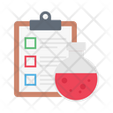 Lab Report Flask Icon