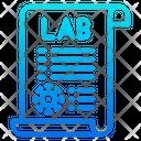 Lab Report Laboratory Science Icon