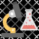Microscope Lab Research Icon