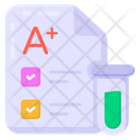 Sample Result Sample Report Lab Report Icon