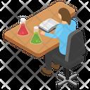 Lab Room Laboratory Area Scientific Lab Icon