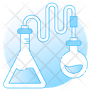 Lab Supplies Chemical Flasks Chemistry Lab Icon