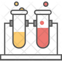Lab Glassware Lab Research Lab Test Icon
