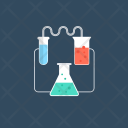 Science Laboratory Chemicals Icon