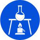 Lab Test Laboratory Chemical Flask Icon