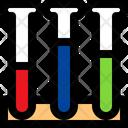 Lab Test Sample Test Tube Icon