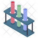 Lab Test Tubes Medical Apparatus Lab Tools Icon