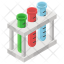 Test Tubes Medical Apparatus Lab Tool Icon