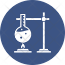 Lab Testing Chemical Flask Conical Flask Icon