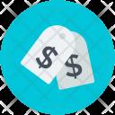 Label Tag Dollar Icon