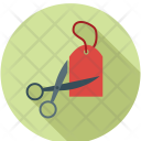Label Tag Cut Icon