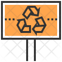 Label Recycle Save Icon