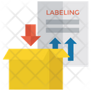 Labeling Tagging Giving Title Icon