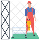 Worker Labor Wage Earner Icon