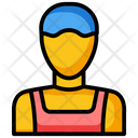 Labor Construction Worker Factory Worker Icon
