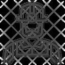 Labor Worker Miner Icon