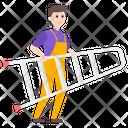 Labor Worker Repairman Icon