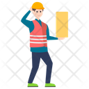 Labor Worker Constructor Icon
