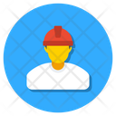 Labor Worker Foreman Icon