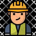Avatar Labor Laborer Icon